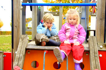 children on a play ground