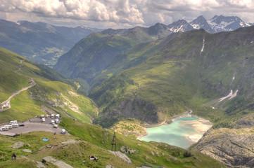Glacier Pasterze. Austrian Alps