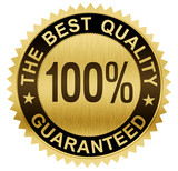 best quality guaranteed gold seal medal with clipping path inclu