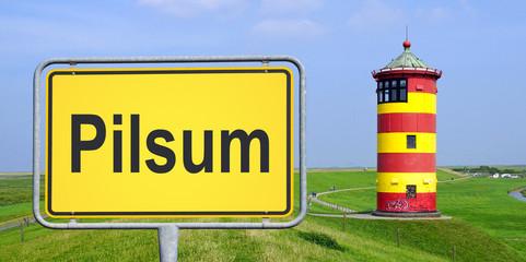 Leuchtturm in Pilsum - Nordsee Küste