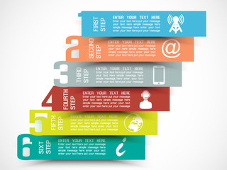 INFOGRAPHIC NUMBER OPTIONS  TEMPLATE NEW STYLE 3