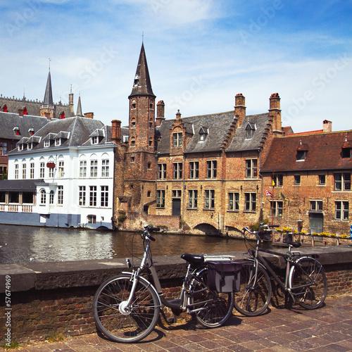 Brugge view, Belgium