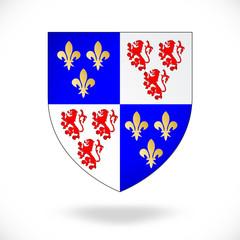 France - Picardie (blason)