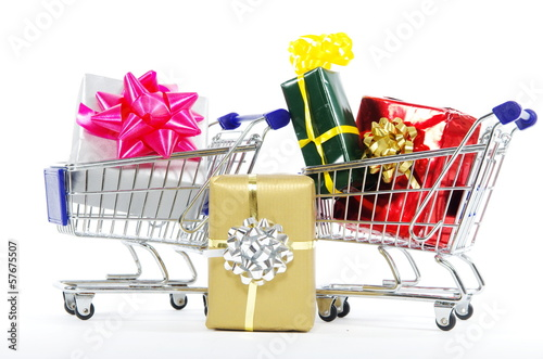 Shopping at Christmas - Christmas Shopping