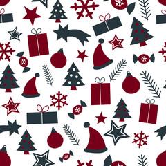 Weihnachten Nahtlosmuster