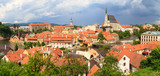 Cesky Krumlov / Krumau Panorama, UNESCO World Heritage Site