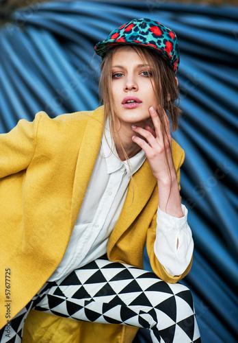 yellow coat - 57677725