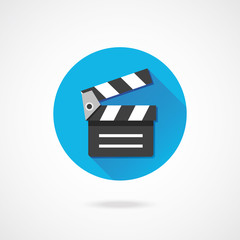 Vector Clapboard Icon