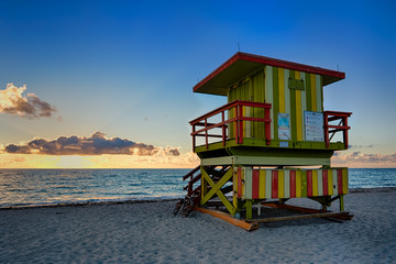 8th Street Lifeguard Tower, Miami Beach