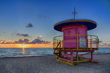 10th Street Lifeguard Tower, Miami Beach