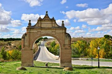 Arco de Medina, Arevalo, Avila, España