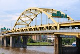 Pittsburgh bridge - bowstring tied arch bridge