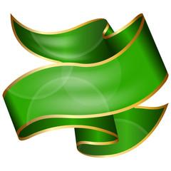 Big green ribbon