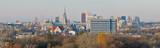 Lodz, Poland -Stitched Panorama