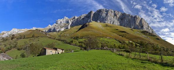 Valles pasiegos.Cantabria.España.