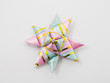 gift star bows with ribbons