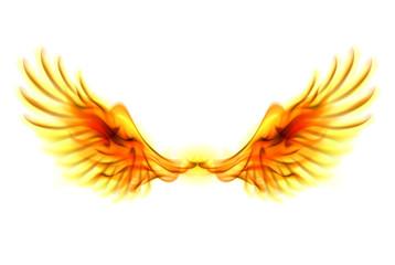 Fire wings.