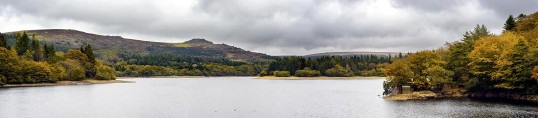 Autumn at the Burrator Resovoir in Dartmoor