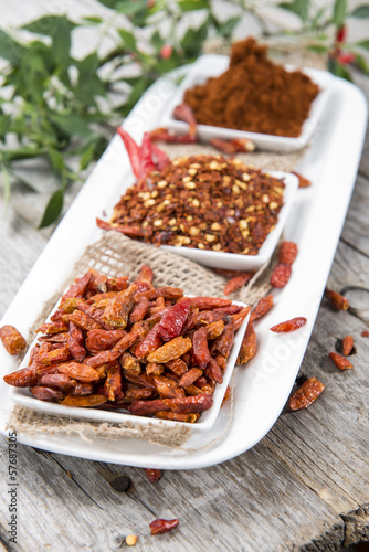 Kibbled Chilli Fruits