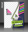 Dance Club Front Flyer & Poster Cover Template