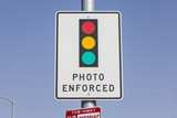 Photo Enforced Traffic Light Sign