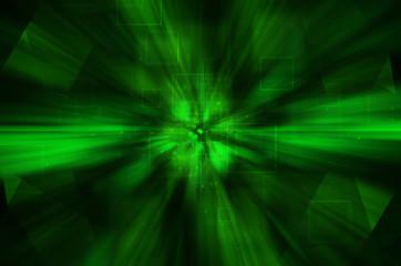 abstract dark green tech background