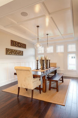 Dining Room in New Home