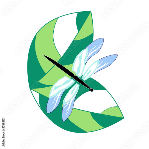 Dragonfly.Vector illustration