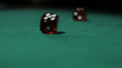 Rolling the dice.