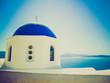 Oia Ia in Greece retro look