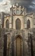 rear view of Catedral de Gerona. Girona. Spain.