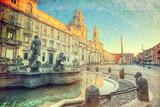 Plac Navona, Rzym. Włochy
