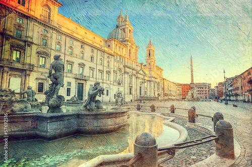 Fototapeta Piazza Navona, Rome. Italy
