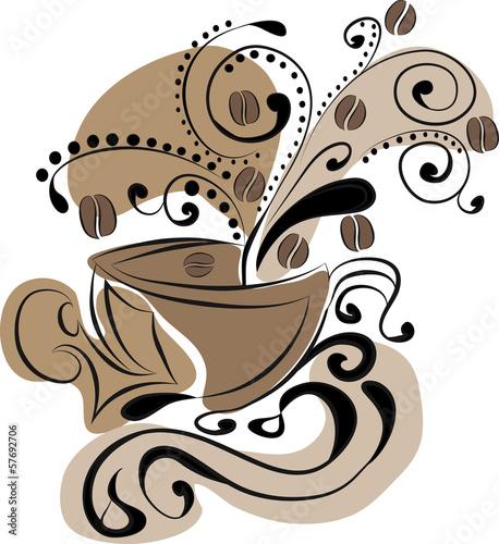filizanka-kawy-abstrakcja