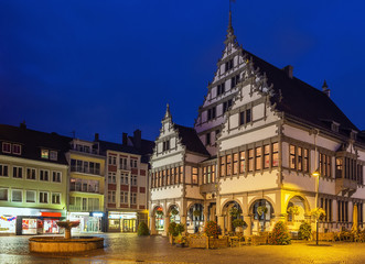 Paderborn town hall, Germany