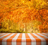 Tablecloth on Autumn