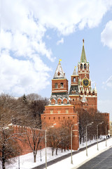 Towers of Moscow Kremlin