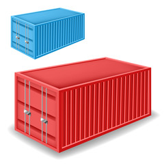 Freight container set