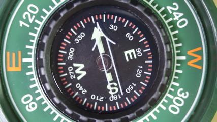 Compass spinning