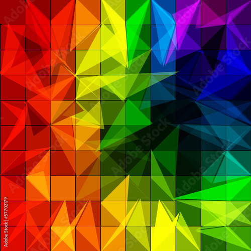 artistic and geometric style abstract colorful background