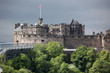 Edinburgh Castle in Scotland, UK