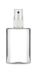 empty bottle with spray diffuser, isolated