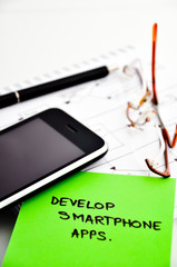 develop smartphone apps