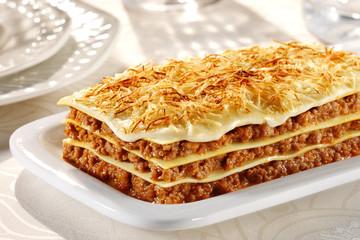 lasagna bolognegse