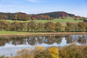 Am Egglsee bei Ebersberg, Bayern