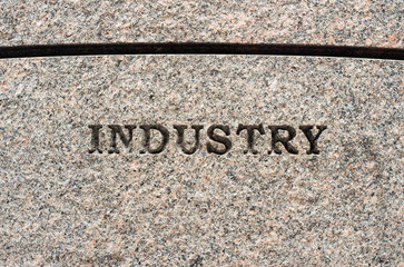 Industry sign