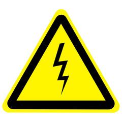 high voltage danger sign