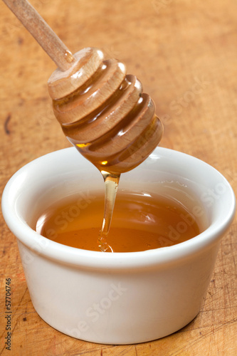 Bowl of honey