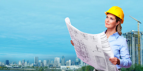 Woman architect .