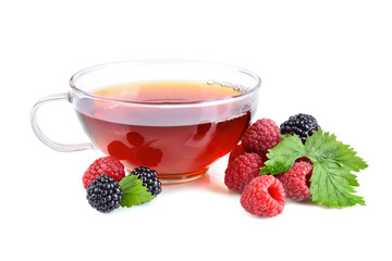 Berries tea